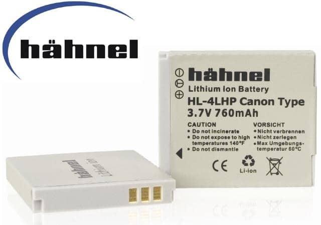 סוללה נטענת חליפית CANON NB-4L