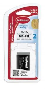 סוללה נטענת חליפית CANON NB-13L