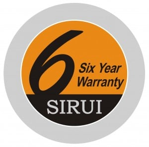 SIRUI – 6 שנים אחריות
